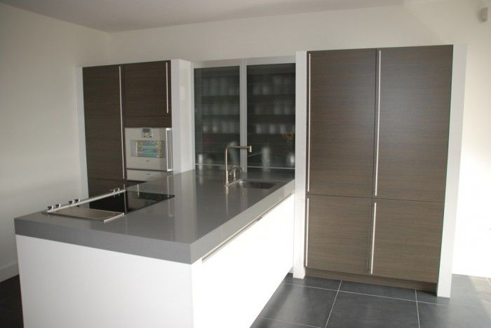 Idee voor schiereiland keuken alleen stijl iets te modern home pinterest island kitchen - Moderne chalet keuken ...