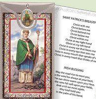 Prayer Card & Medal - St. Patrick.