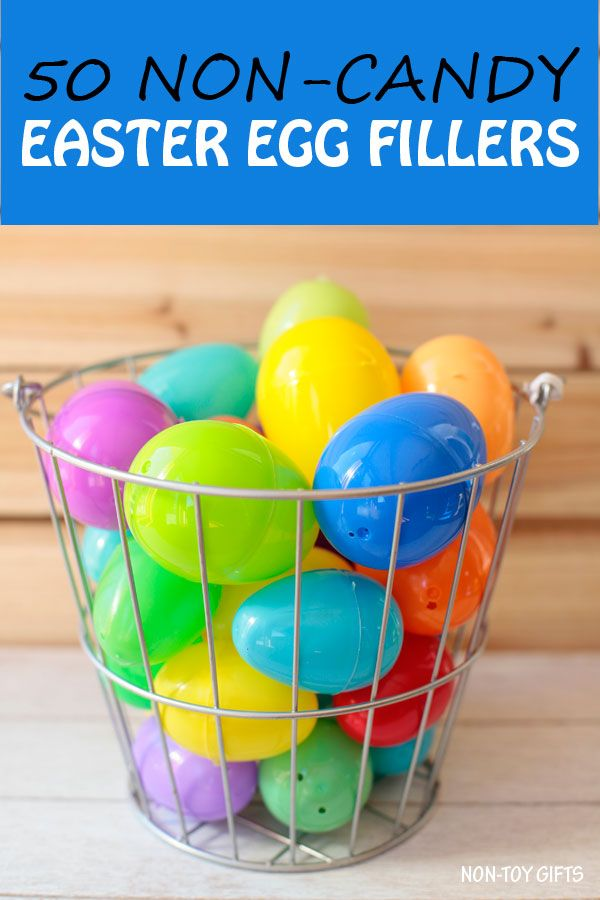 212 best non toy gifts images on pinterest craft activities 50 non candy easter egg fillers for preschool kindergarten perfect for easter egg negle Images