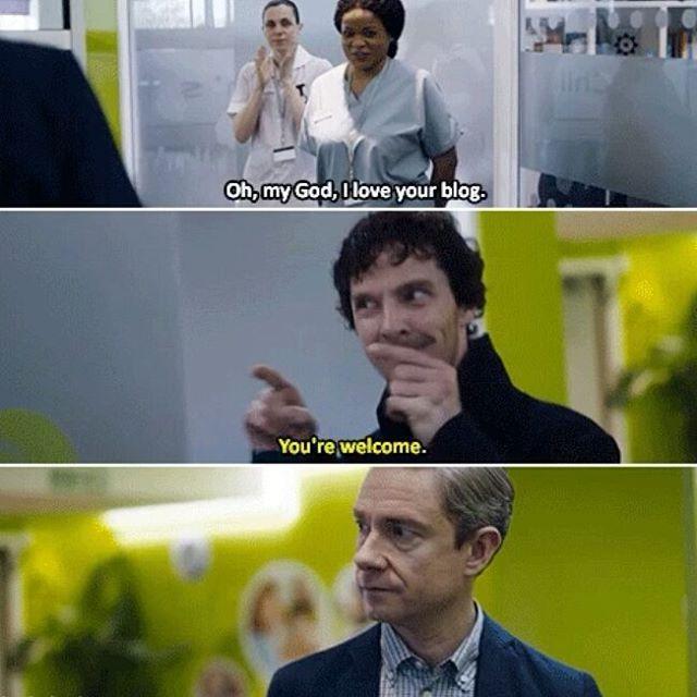 John's face! Sherlock Season 4 Episode 2 TLD S04 E02.