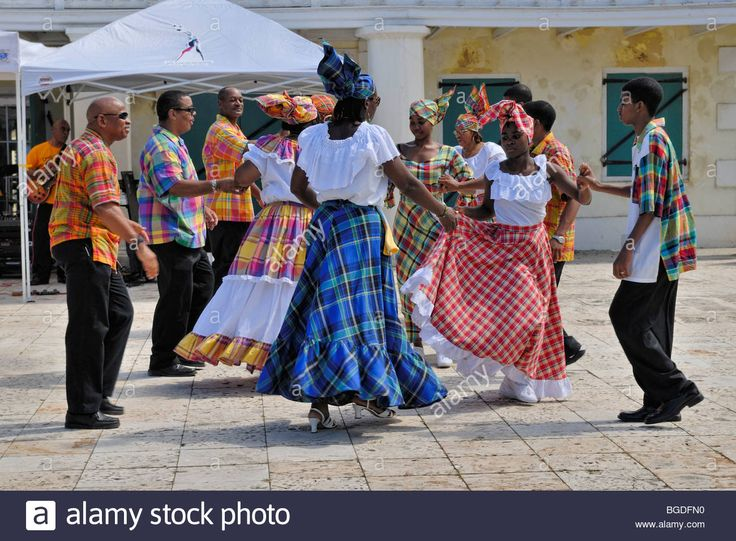 Folk Group Dancing A Quadrille, Frederiksted, St. Croix Island, U.s Stock Photo, Royalty Free Image: 27342588 - Alamy