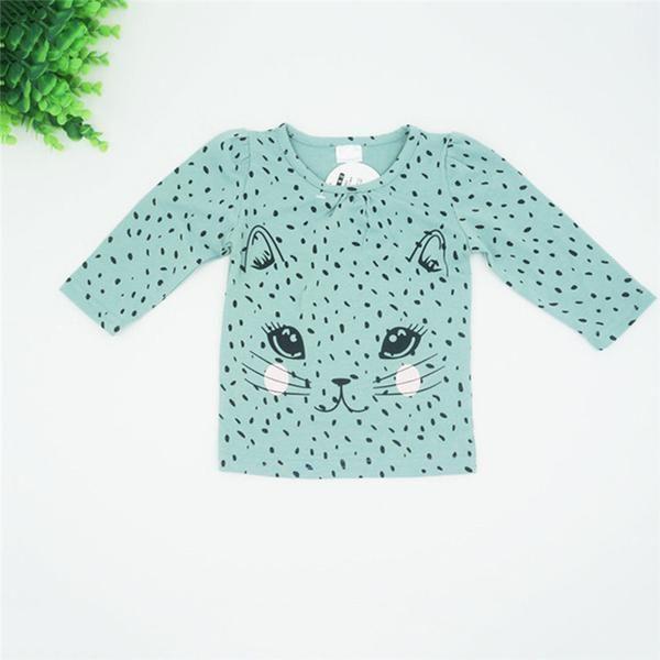 Cute Baby Girl Cat Cartoon Outfit