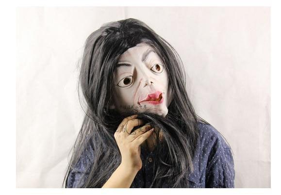 New Halloween Scary Clown Mask Full Head Latex mask Black long hair witch mask scary big mouth lady girl head mask for hot sale  http://playertronics.com/products/new-halloween-scary-clown-mask-full-head-latex-mask-black-long-hair-witch-mask-scary-big-mouth-lady-girl-head-mask-for-hot-sale/