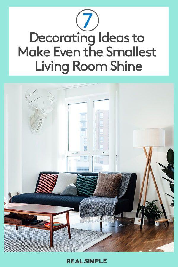 7 Clever Small Living Room Decorating Ideas In 2020 Small Living Room Decor Decorating Small Spaces Small Living Room #small #space #living #room #decorating #ideas