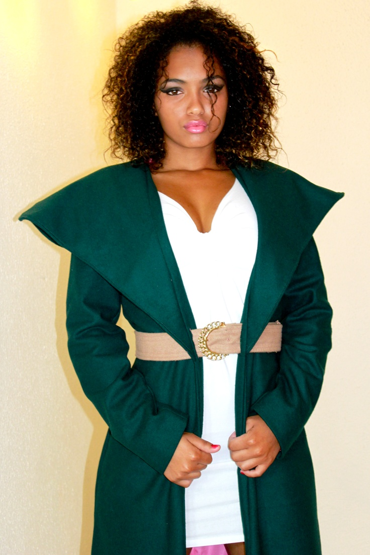 Limba A/W Collection 2012: #Fashion #SouthAfrican #Designer Winter Green Jacket