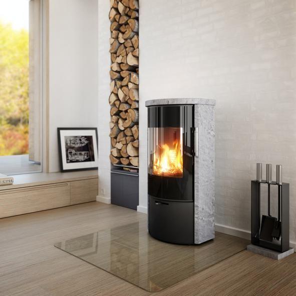 Rais Stoves | Rina Soapstone 4kw Wood Burning Stov…