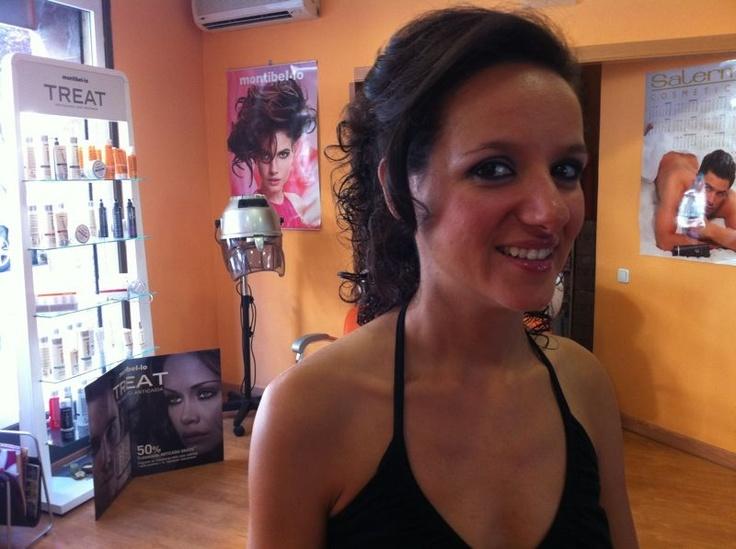 #maquillaje #peinado #boda #recogido #peluqueria #wedding #hairstyle