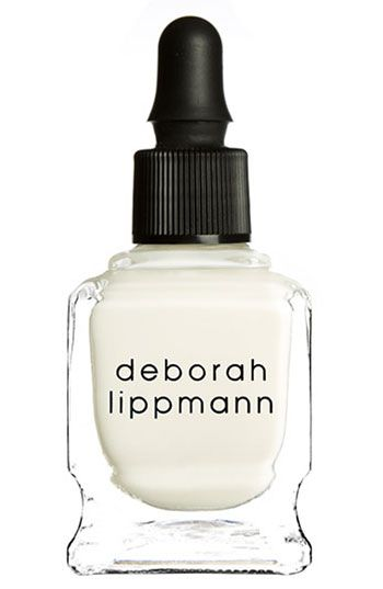 Deborah Lippmann Cuticle Remover- I can't believe how much gunk came off of my nail beds! AMAZING!!!