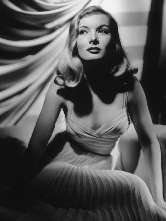 Veronica Lake- one of Hollywood's original femme fatales and film noir queen.