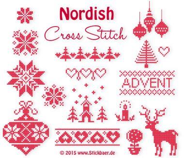 € 7 Nordish Cross Stitch