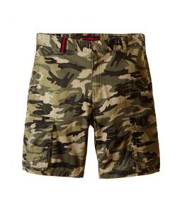 Toobydoo Cargo Shorts (Infant/Toddler/Little Kids/Big Kids) (Army Shorts) Boy's Shorts