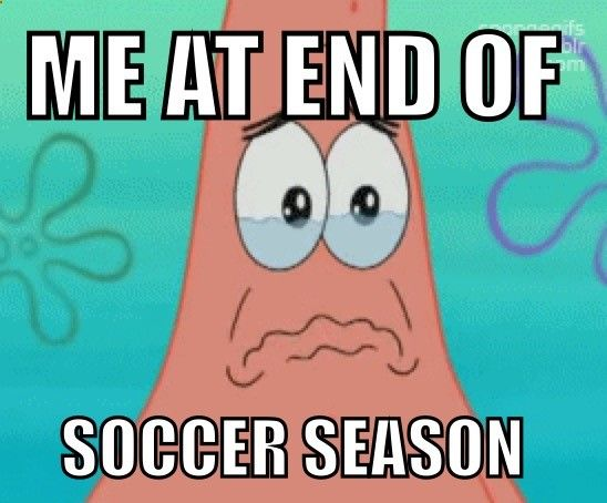 The competitive season anyway