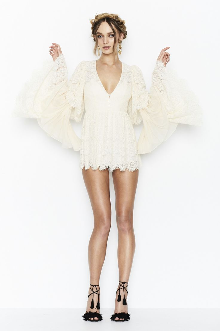 Alice McCALL - Pre Sale Alice Mccall Arizona Playsuit French Vanilla