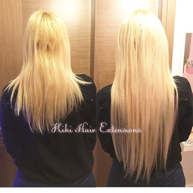 Hair extensions blondy