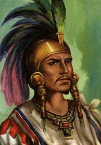 he was the Aztecs emperor Moctezuma