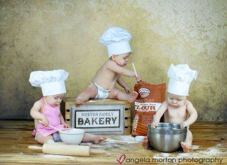This would be fun to do with cousins close in age :) Not necessarily the baking but some sort of set-up!