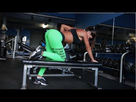 MICHELLE LEWIN MOTIVATION: Hardcore Back Workout! - YouTube