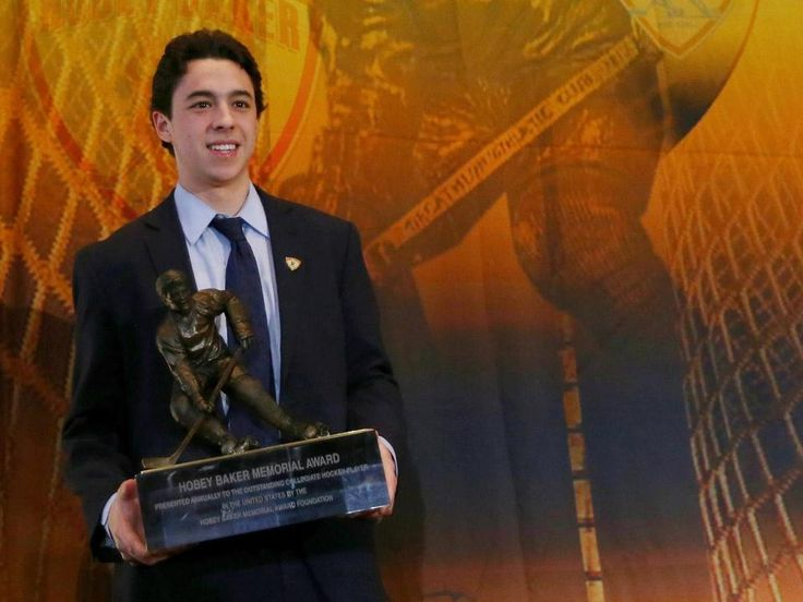 BC's Johnny Gaudreau wins Hobey Baker Award