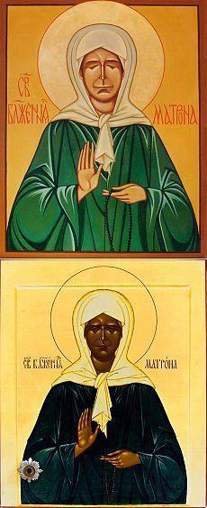 Сильные молитвы от порчи Матроне Московской