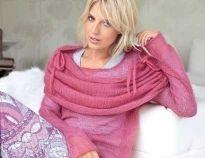 Схемы вязания шарфов спицами для женщин на Verena.ru