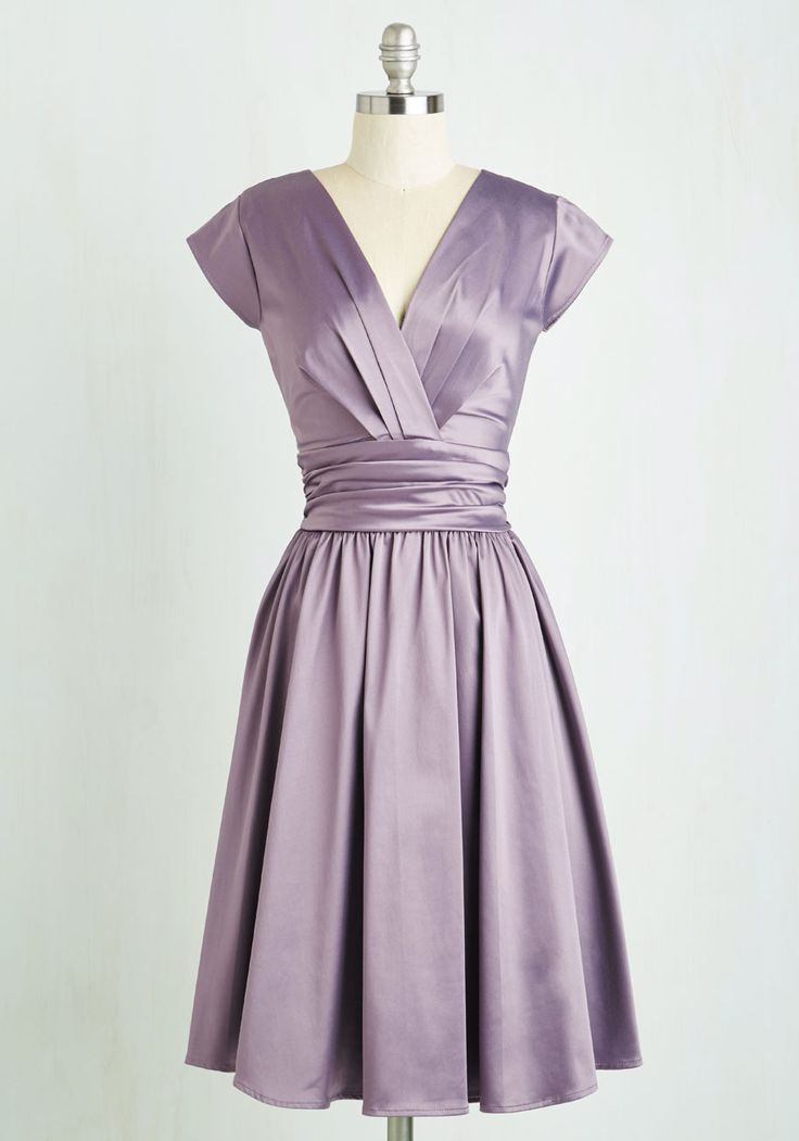 Love you ivory day dress in amethyst day dresses purple for Purple and ivory wedding dress