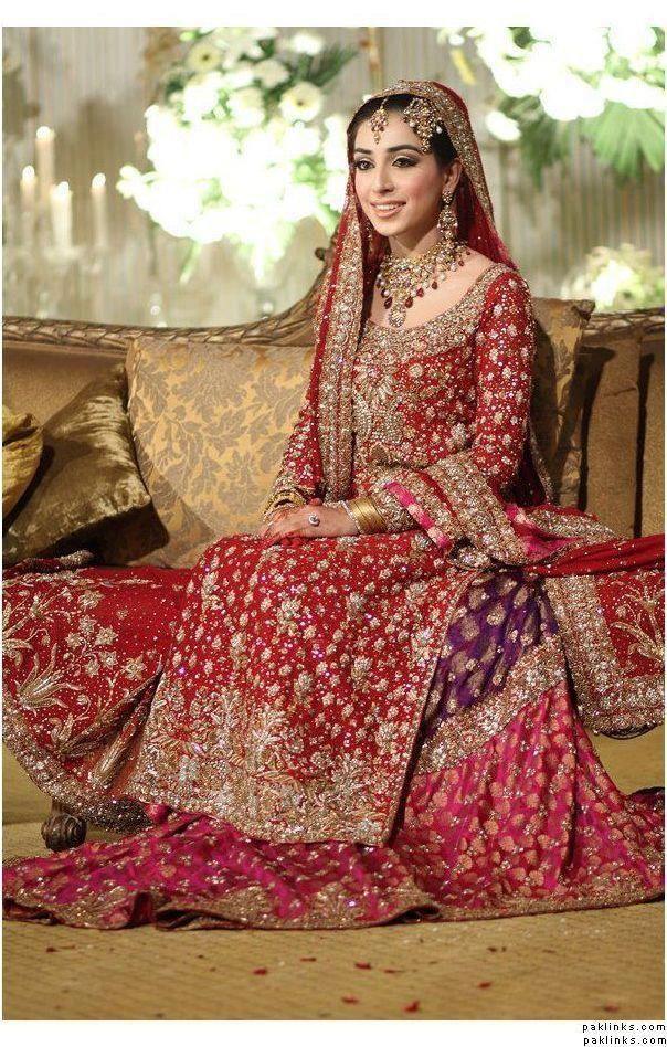 Pakistani Bridal Lehnga 33 Sana Safinaz.jpg (604×948)