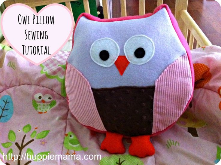 Owl Pillow Sewing Pattern Free Image collections - origami ...