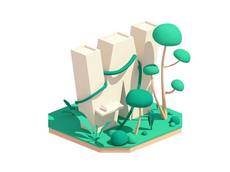 Welcome to the Jungle by Guillaume Kurkdjian #Design Popular #Dribbble #shots