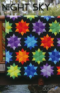 Night Sky Quilt Pattern (by: Jaybird Quilts) They used the Sidekick Ruler (Listed on Amazon)