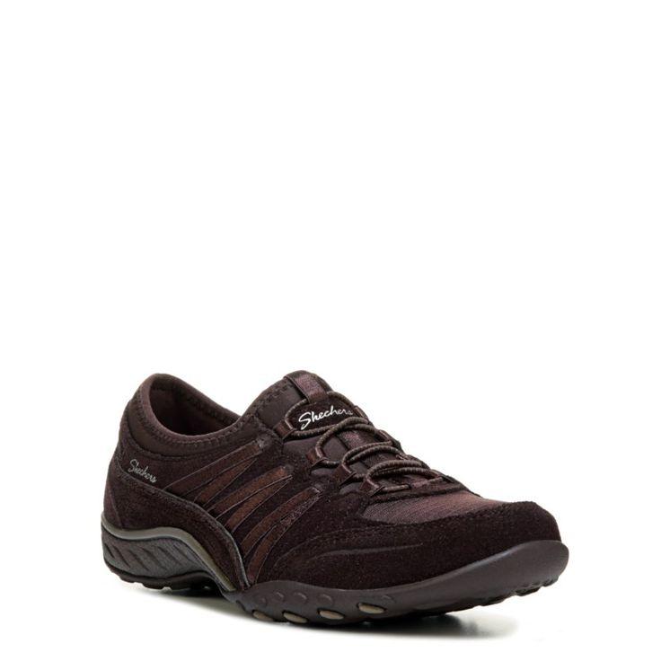 Skechers Women's Breathe Easy Moneybags Sneakers (Chocolate) - 10.0 M