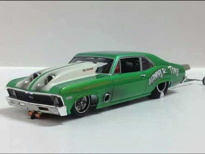 Scale Diecast Drag Racing Cars