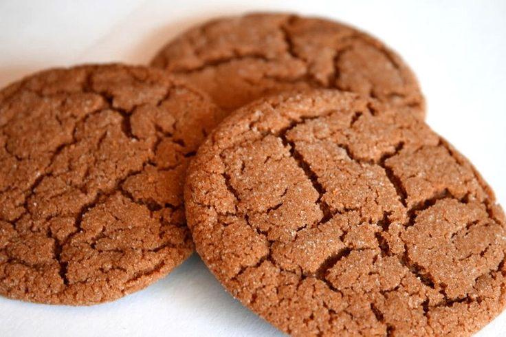Spicy, Crispy Gingersnap Cookies • The Heritage Cook ®