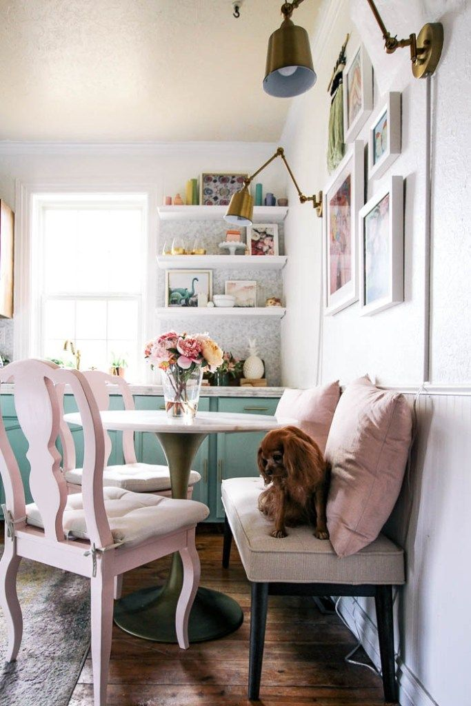 Small Space Dining Table At Home With Ashley In 2020 Tiny Dining Rooms Dining Table Decor Small Dinner Table
