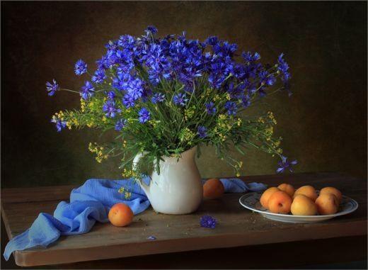 Nyári virágcsokrok