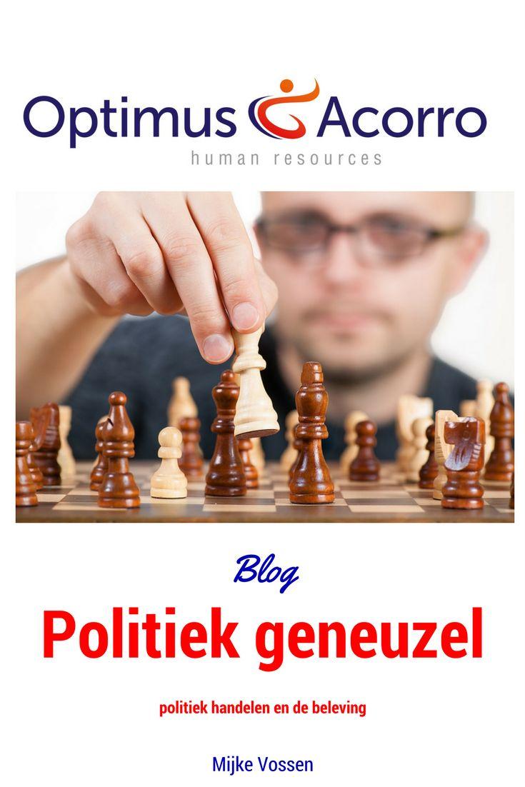 Om onnodig politiek handelen terug te dringen en daarmee het rendement van de organisatie te verhogen, is een capabel en krachtig management nodig.