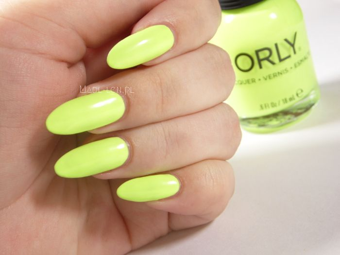 Nails - Key Lime Twist by ORLY.