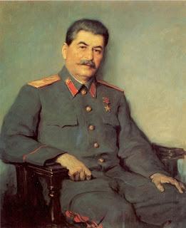 Victor Oreshnikov: Portrait of Joseph Stalin (1948) Soviet Art
