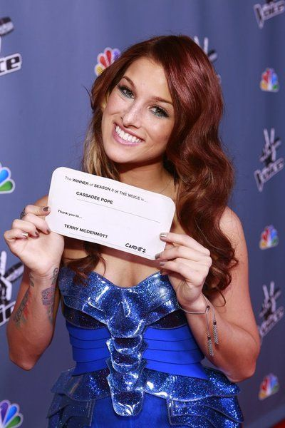 Cassadee Pope Crowned the Winner of 'The Voice' Season 3 on NBC