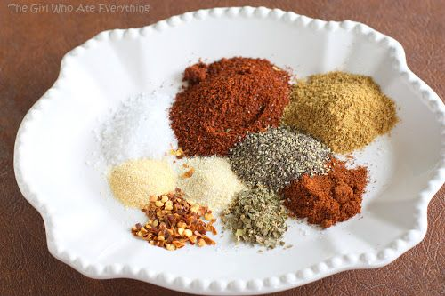 Homemade Taco Seasoning | The Girl Who Ate Everything. I made and used this in my chicken tortilla soup instead of a packet of taco seasoning. Very good and no MSG!