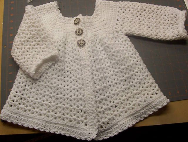 From Red Heart booklet called Soft & Sweet-Knit & Crochet for Baby - Book#0136. Going to look this pattern up and try it.