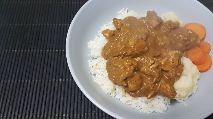 My family loves butter chicken. It's unfortunate that most of the Indian restaurants add food colouring to their butter chicken for colour. This is our recipe minus the colour.