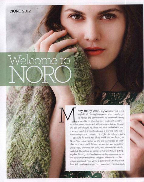 NORO Knitting Magazine Fall 2012 秋季 - 编织幸福 - 编织幸福的博客