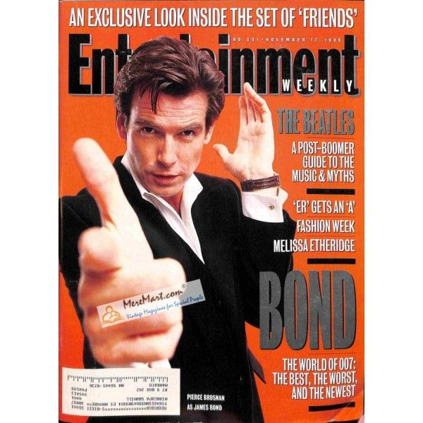 Cover Print of Entertainment Weekly, November 17 1995 | $6.60
