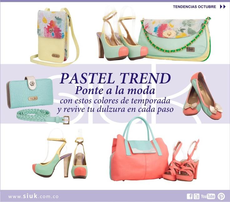 Pastel Trend. October