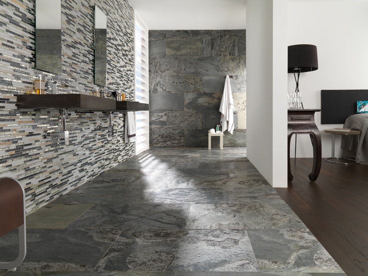 Nuevos revestimientos de l antic colonial pizarra kannada for Porcelanosa catalogue carrelage