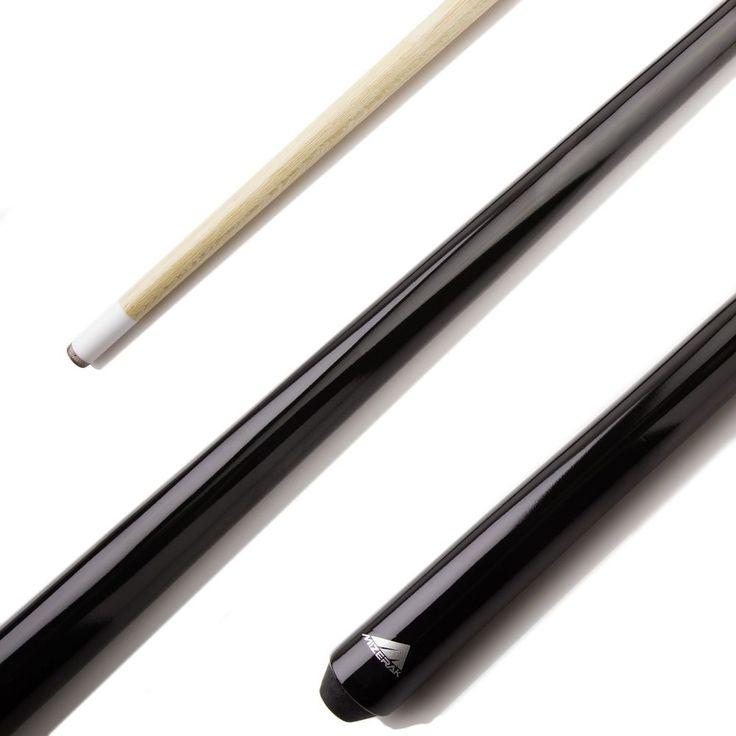 "Pool Cue Billiard Supplies Billiard Shorty 1 Piece 40"" Short Stick Fits for Kids #Mizerak"