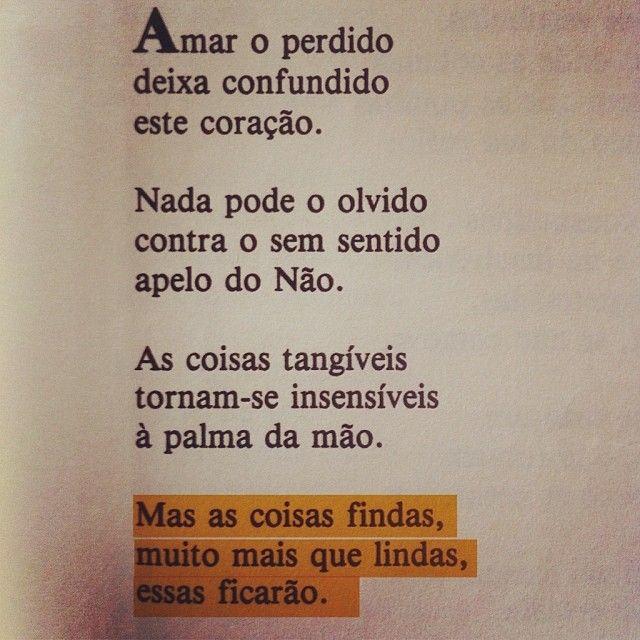 Claro Enigma. Carlos Drummond de Andrade. pág. 27