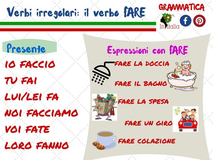 #verbofare #imparaitaliano