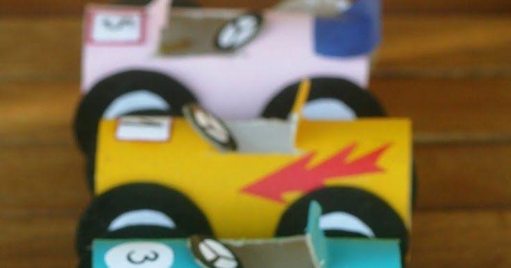 Toilet paper tube cars            kiflieslevendula.blogspot.it               Balloon bongo/rice shaker from cans        ...