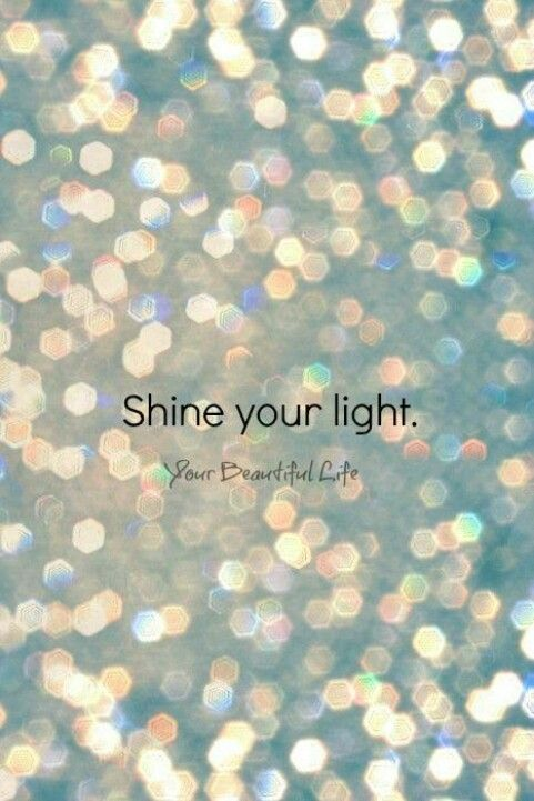 Let your light so shine before men, that they may see your good works, and glorify your Father which is in heaven. Matthew 5:16 KJV